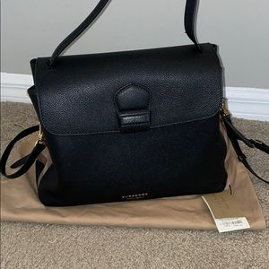 Burberry London derby house leather medium tote